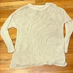 Heavy open knit sweater 3-4x EUC torrid style